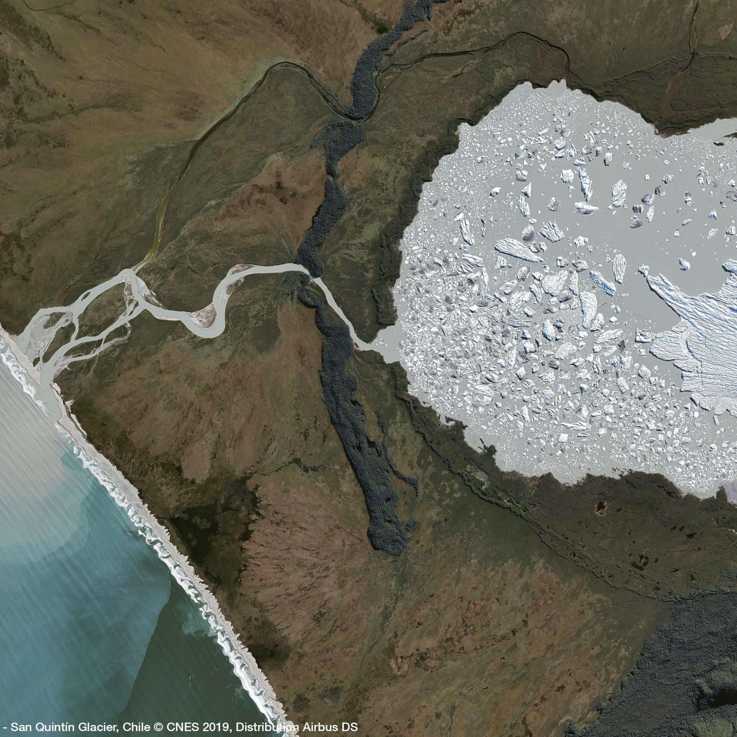 Pléiades – San Quintin Glacier 2019