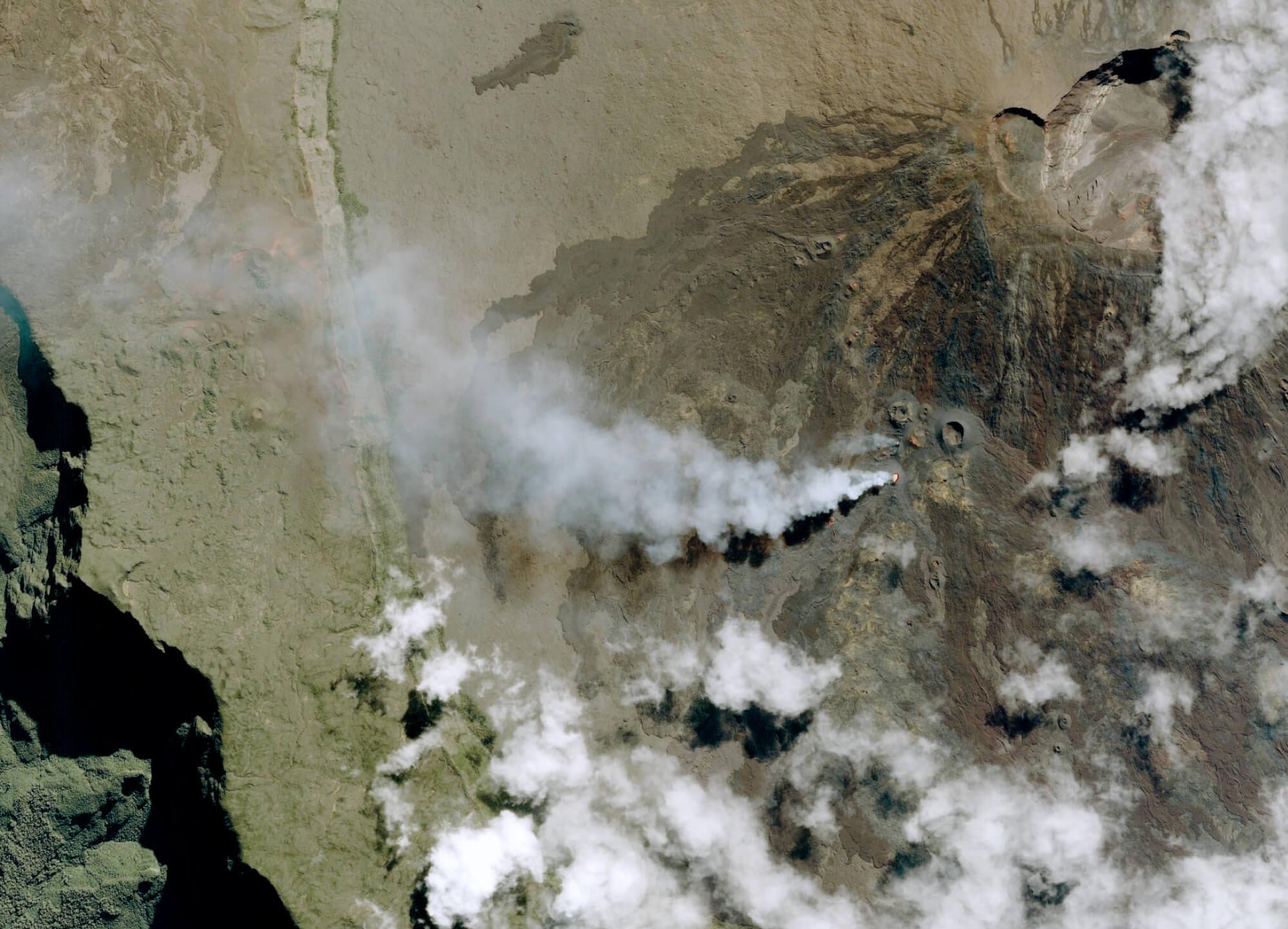 Pléiades – Piton de la Fournaise Volcano, France PLEIADES